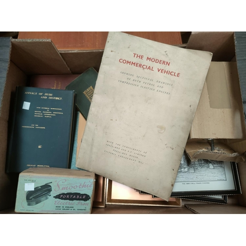 36 - Thomas Middleton:  Annals of Hyde; other books and vintage items NO BIDS SOLD WITH NEXTLOT...