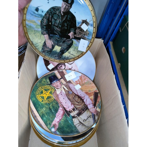 36 - A selection of collectable plates, decorative and limited edition