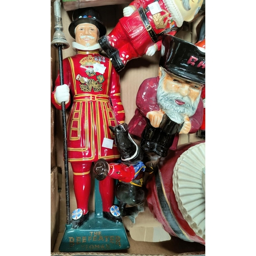 39 - A collection of various Beefeater figures