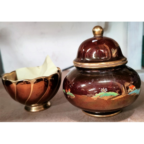51 - A selection of Carltonware Rouge Royale china...