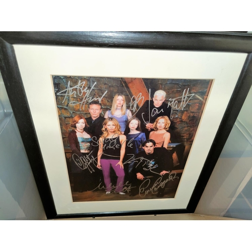 6 - A collection of 22 facsimile signed photos of film stars; etc....