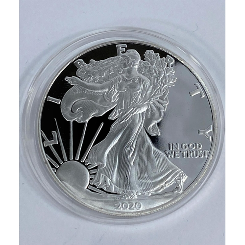 248 - USA silver proof dollar 2020