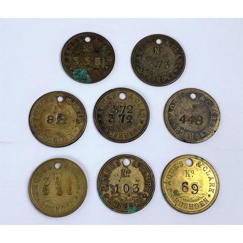 252 - Jaques clark tokens, Birmingham (8)