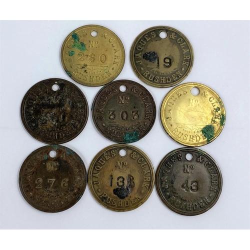 252A - Jaques clark tokens, Birmingham (8)