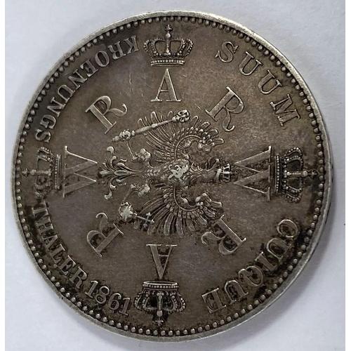 265 - Prussia, thaler 1861