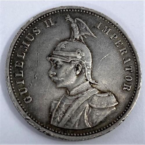 266 - German South Africa, 1 rupee, 1909 (Berlin mint)