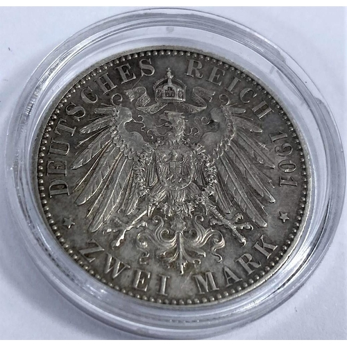 267 - Prussia: 2 marks 1901