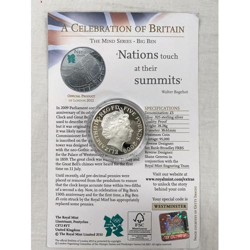 292 - GB: Olympics silver £5 2009,