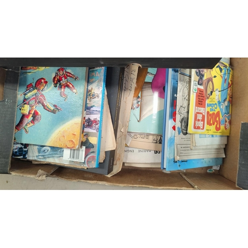 109A - A selection of children's annuals and books etc