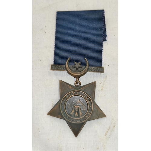 184 - A Khedive's Star 1882