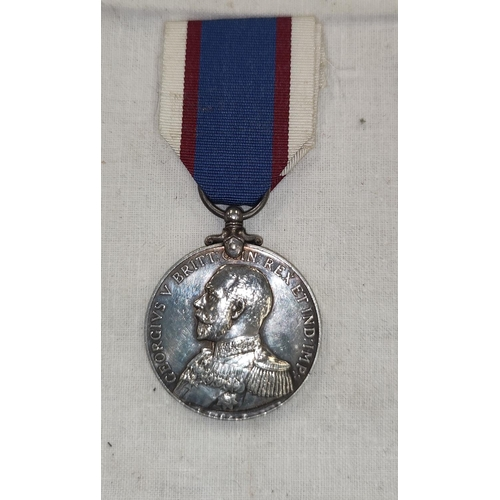 185 - A Royal Fleet Reserve Long Service Good Conduct Medal to 205398 (PO.B 5510) F. Reeves L.S. R.F.R.