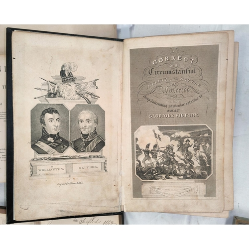 209 - WELLINGTON/WATERLOO - A Correct and Circumstantial Account of the Battle of Waterloo, engraved title...