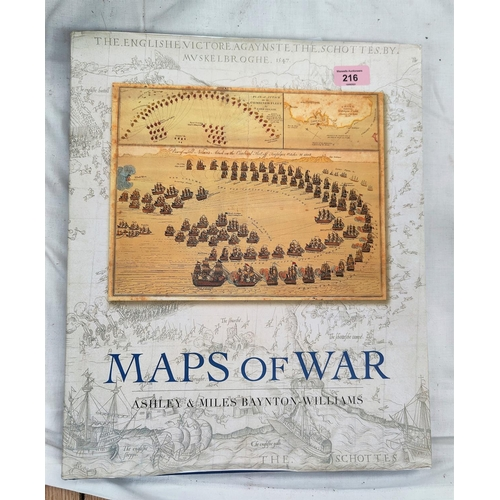 216 - MAPS OF WAR, Ashley & Miles Baynton Williams 2007