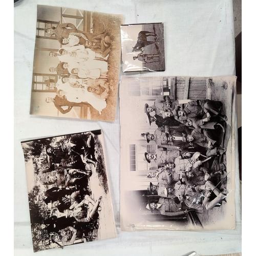 217B - BOER WAR: a group of 4 Boer War period photographs