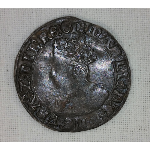 297A - GB: Queen Mary groat, 1553