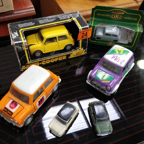 24 - Collection Of Model Minis