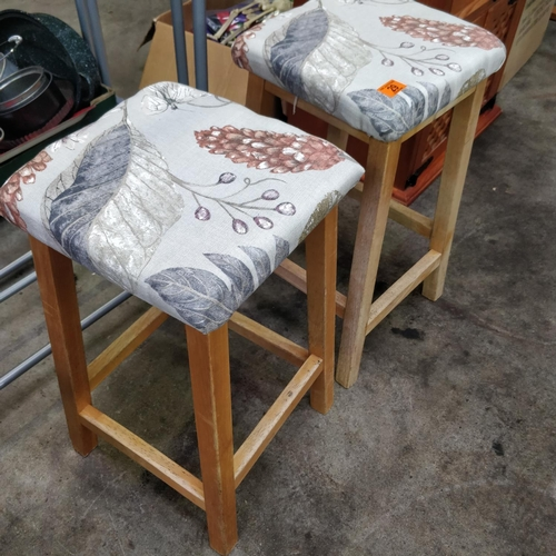 29 - 2 Kitchen Stools