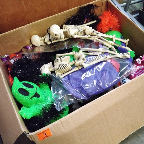 3 - Box Of Halloween Decorations