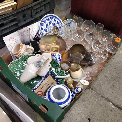 35 - Box Lot Inc Glasses etc