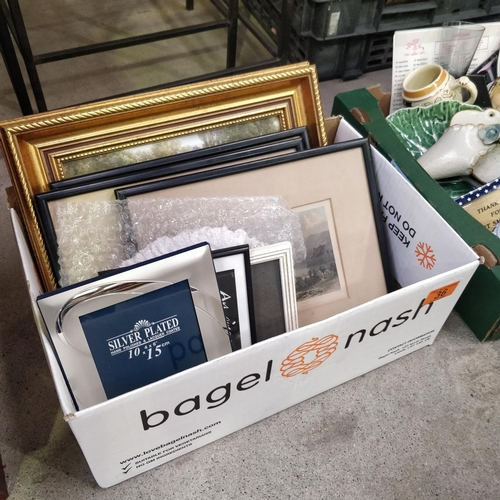 36 - Small Lot Of Pictures & Picture Frames