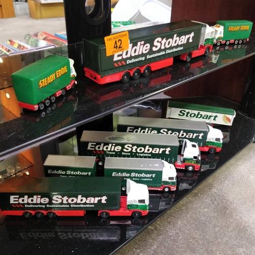 42 - Collection Of Eddie Stobart Models