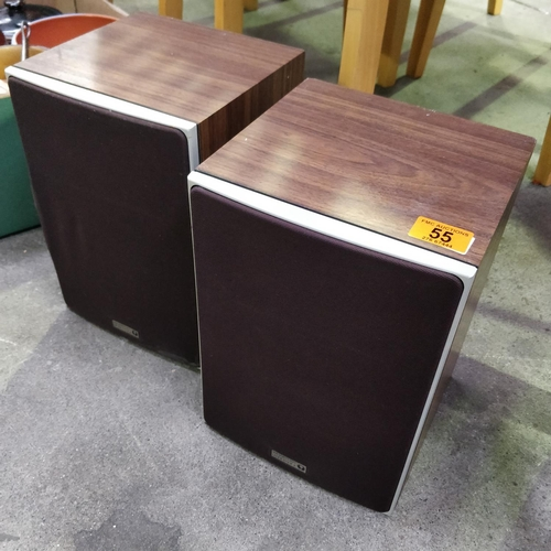 55 - 2 Old Speakers (Wharfedale)
