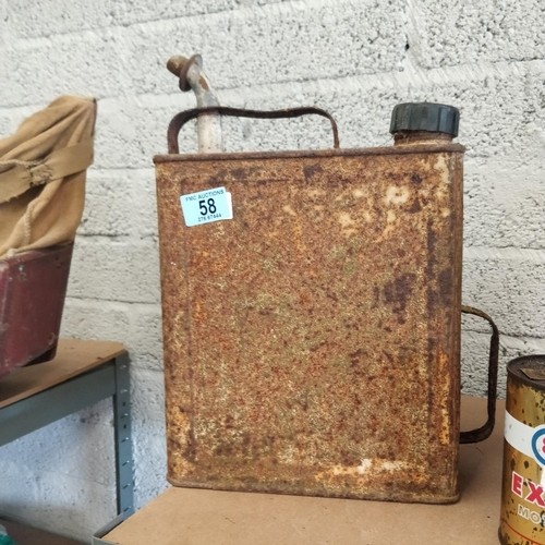 58 - Old Petrol Can
