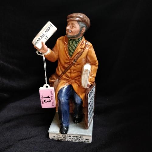 13 - Royal Doulton The News Vendor - HN2891