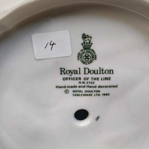 14 - Royal Doulton Officer Of The Line - HN2733