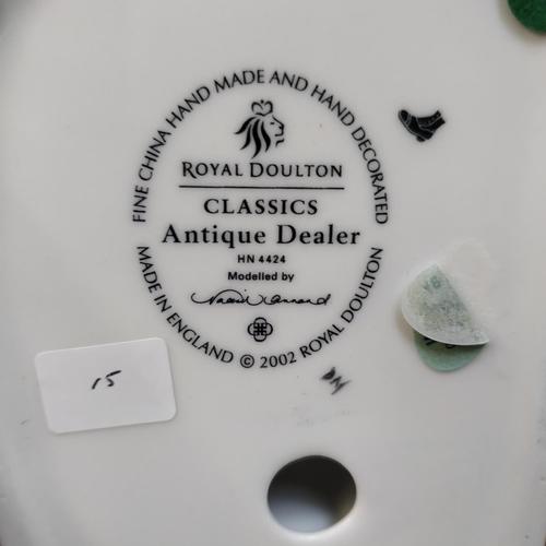 15 - Royal Doulton Antique Dealer - HN4424