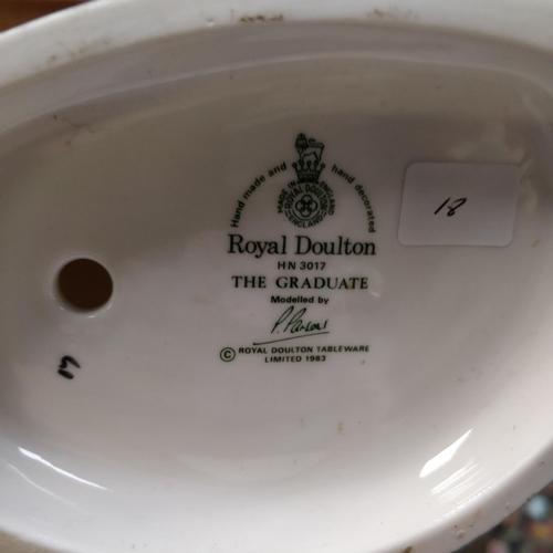 18 - Royal Doulton The Graduate -HN3017