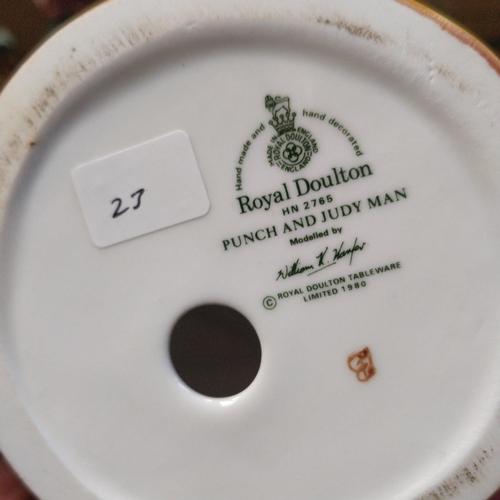 23 - Royal Doulton Punch & Judy Man - HN2765