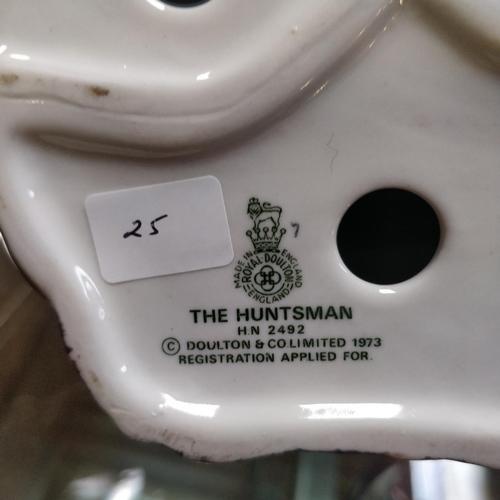 25 - Royal Doulton The Huntsman - HN2492