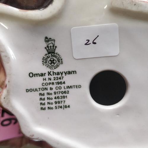 26 - Royal Doulton Omar Khayyam - HN2247