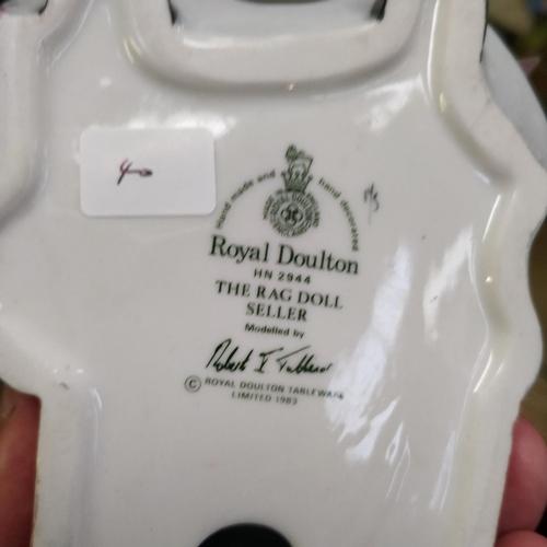 40 - Royal Doulton The Rag Doll Seller - HN2944