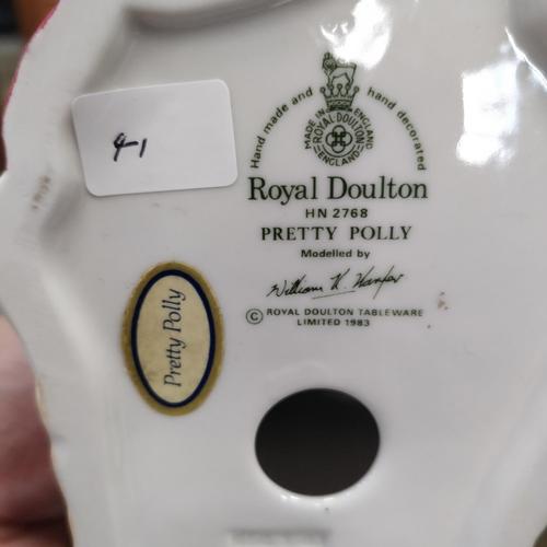 41 - Royal Doulton Pretty Polly - HN 2768