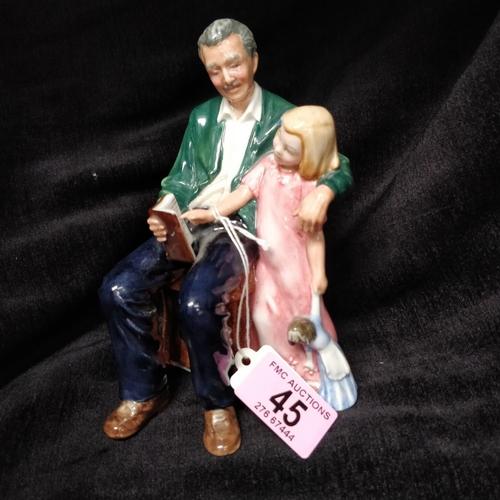 45 - Royal Doulton Grandpas's Story -  HN3456
