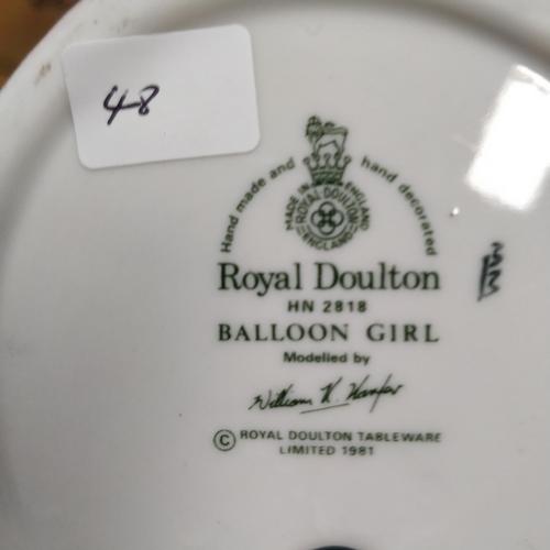 48 - Royal Doulton Balloon Girl - HN2818