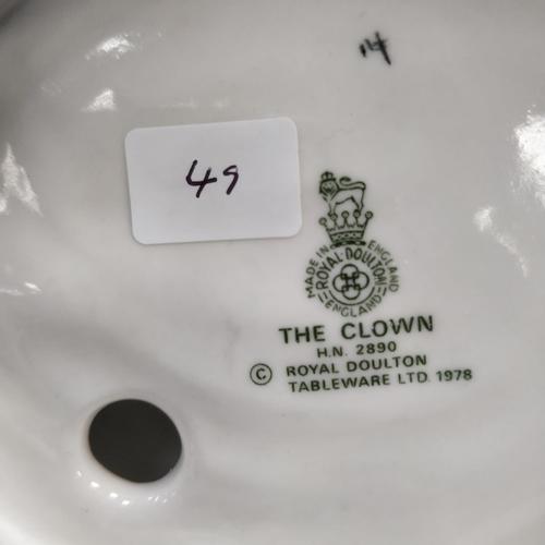 49 - Royal Doulton The Clown - HN2890