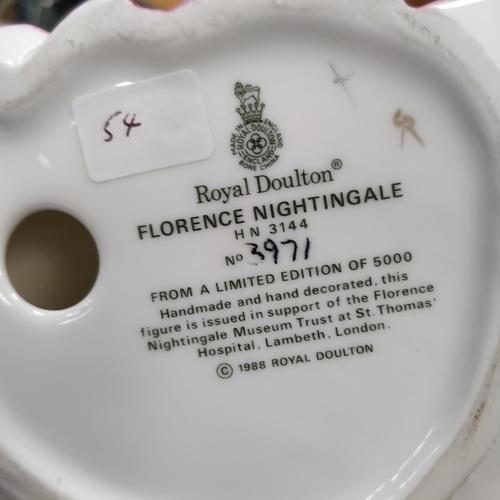 54 - Royal Doulton Florence Nightingale - HN3144 No 3971, Ltd Edition