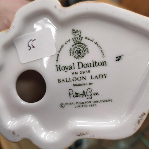 55 - Royal Doulton Balloon Lady - HN2935