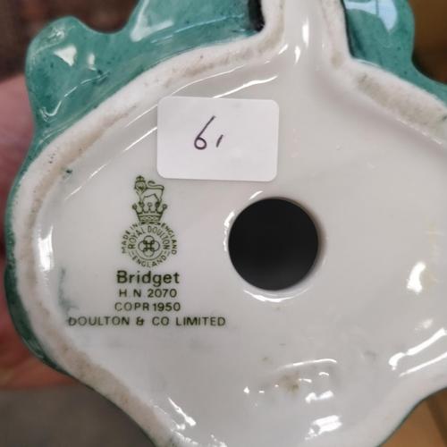 61 - Royal Doulton Bridget - HN2070