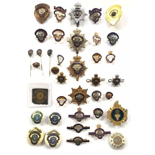 Royal British Legion Selection of Badges.