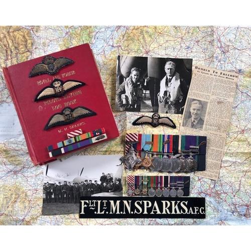 8 - WW2 RAF Historic Operation Jericho Amiens Gestapo Jail Break Raid Medal Group of Flight Lieutenant M...