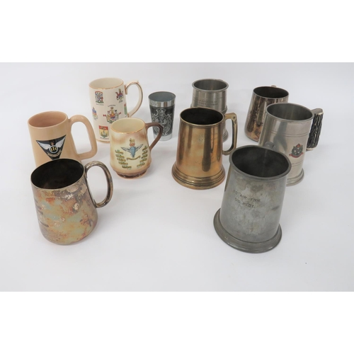 16 - Air Force and Other Tankards including