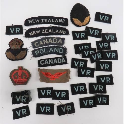 4 - WW2 RAF Commonwealth Nationality Titles etc .A good selection including: Canada. ... New Zealand. .....