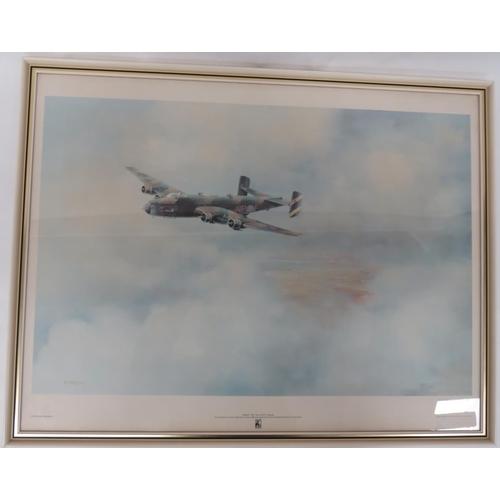 57 - Fine Art print of RAF Halifax