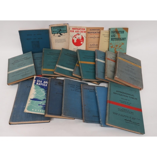 61 - Air Navigation Books good selection of WW2 period books including Astronomical Navigation Tables Vol...