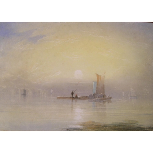 574 - Unsigned, late Victorian watercolour
