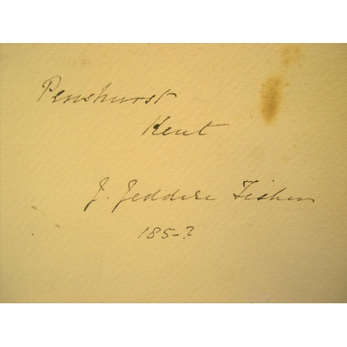 864 - J J Fisher 1850s watercolour